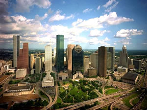 Downtown Houston Skyline