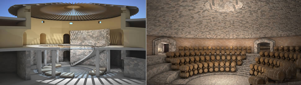 Wine Spa and Wine Cellar at Ikal 1150 Luxury Hotel in Mendoza, Argentina