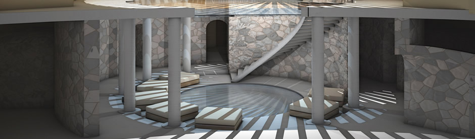 View of Spa Vinotherapa at 1150 Luxury Hotel in Mendoza, Argentina