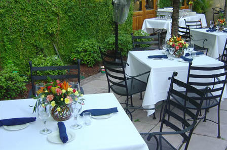 Patio at Hugo's Restaurant, Houston